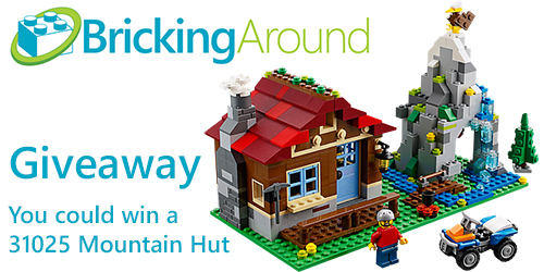 31025 Mountain Hut Bricking Around Giveaway