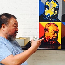 Ai Weiwei instagram post small