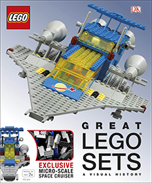 Great LEGO Sets A Visual History Cover Small