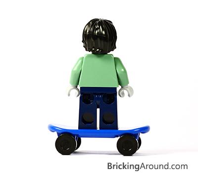 ILTM Zombie Skateboarder Back