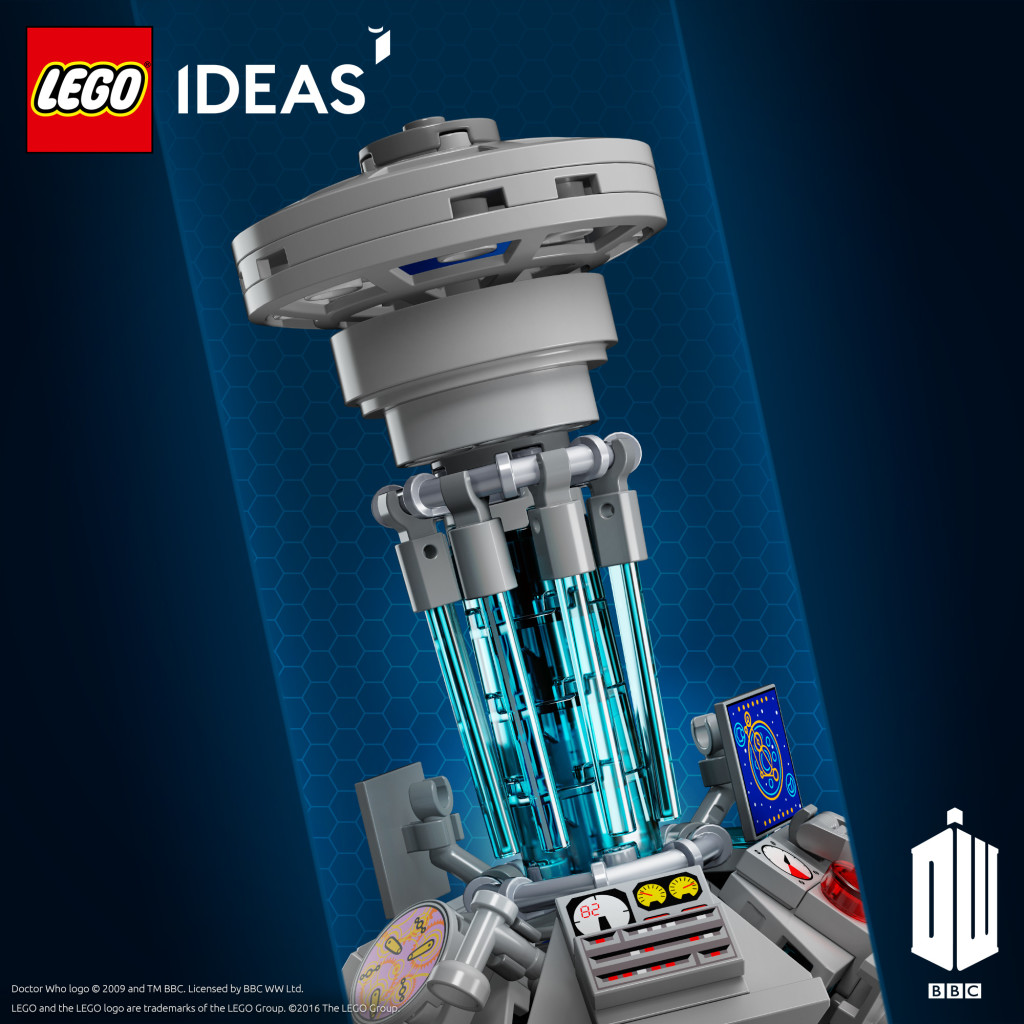 LEGO Ideas Doctor Who TARDIS Console