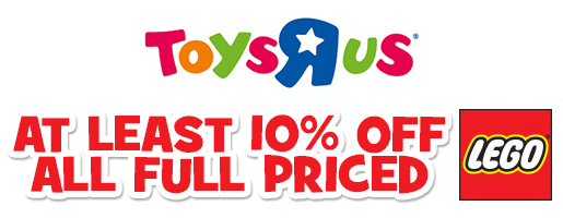 Toys R Us 10pc Off November 20