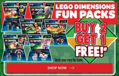 EB Game Dimensions Fun Packs B2G1 Free