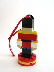 LEGO Fed Square Toy Soldier Ornament