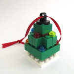 LEGO Fed Square Tree Ornament