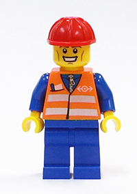 MinifigPak Railway Worker