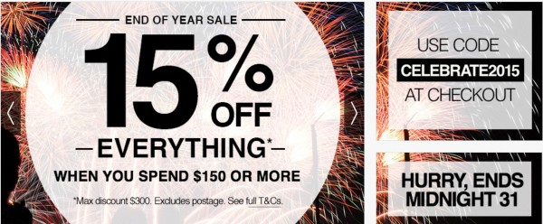 eBay End of 2015