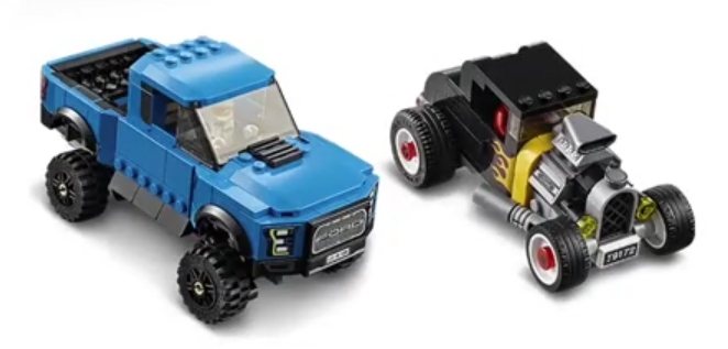 75875 Ford F-150 Raptor and Model A Hot Rod