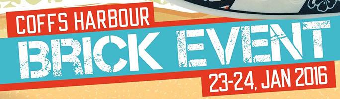 Coffs Harbour Brick Event 2016