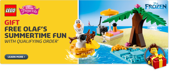 LEGO Online Offer: Free Olaf's Summertime Fun Set | Bricking Around