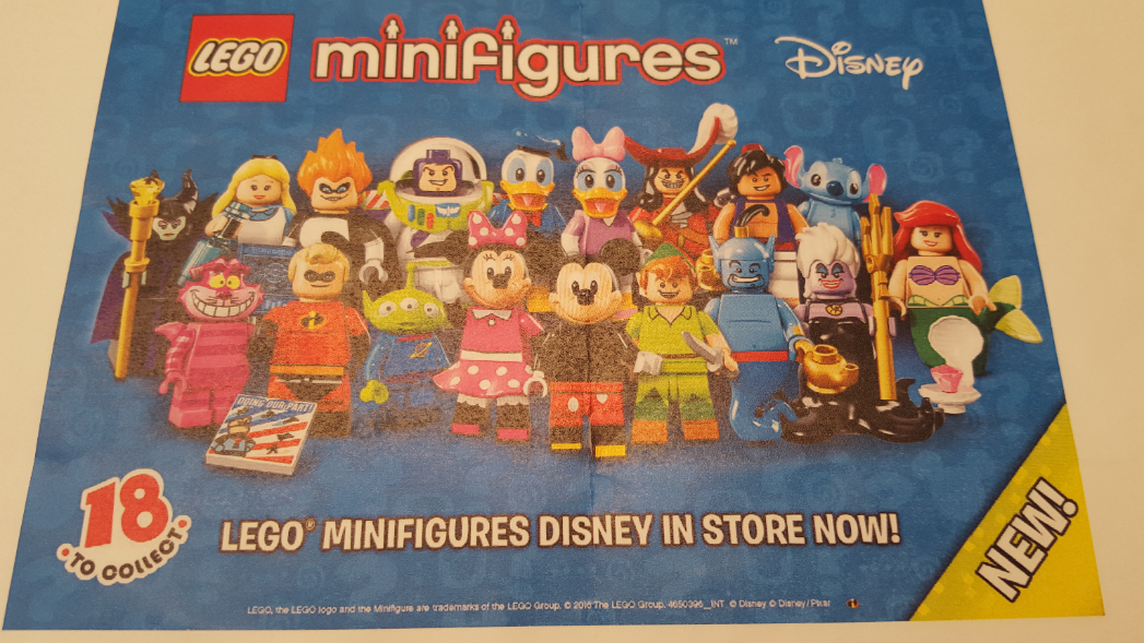 Disney Collectible Minifigures