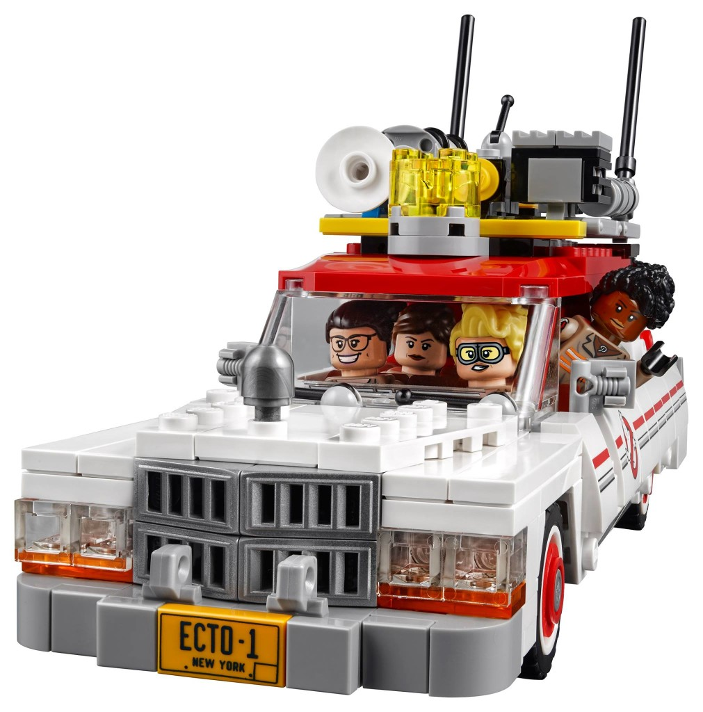 Ghostbusters Ecto 1 and 2