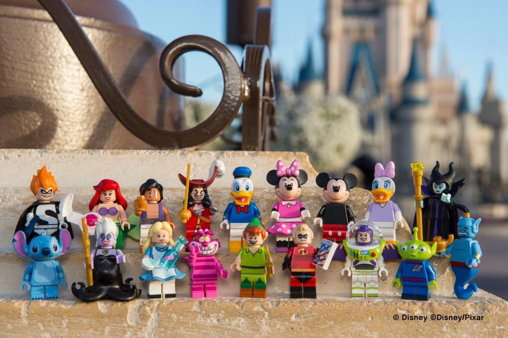Disney Minifigures Lineup