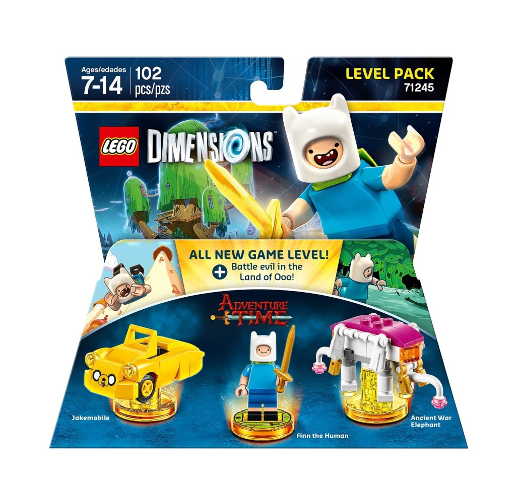 71245 Adventure Time Level Pack B