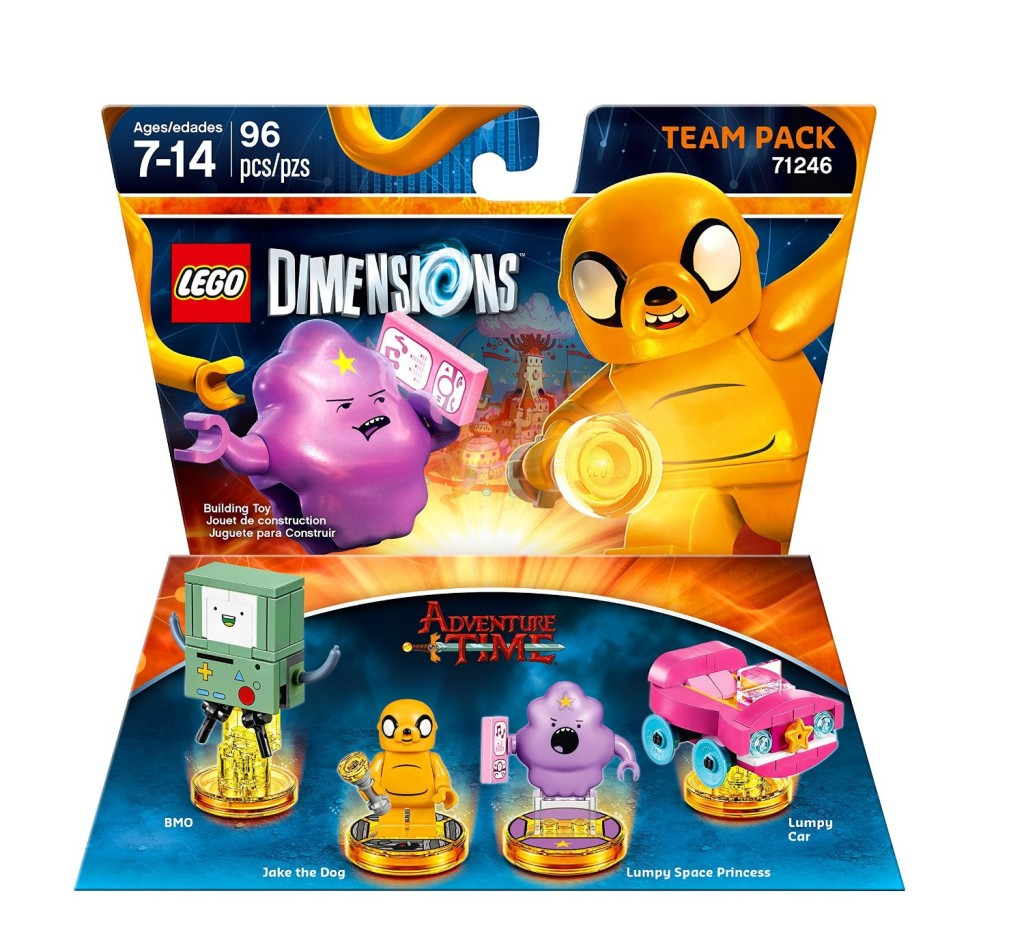 71246 Adventure Time Team Pack B