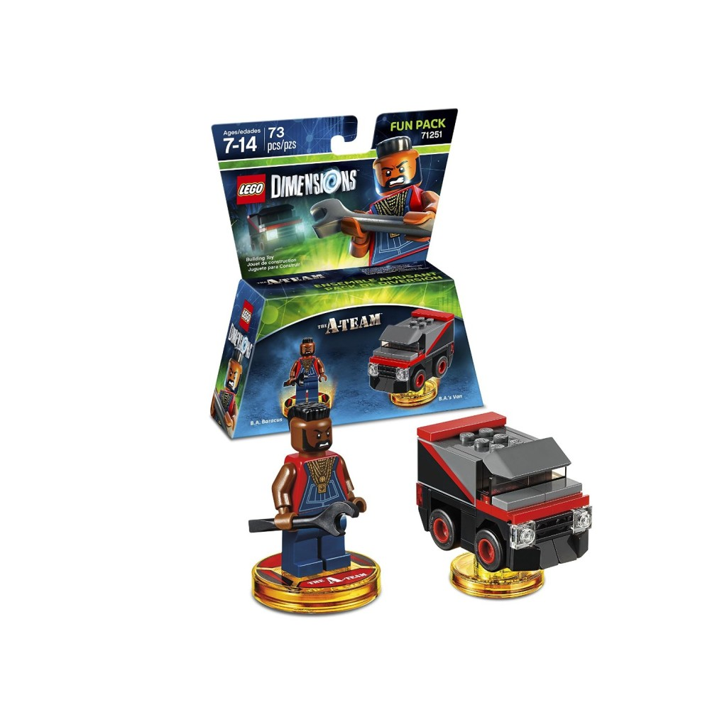 71251 The A-Team Fun Pack