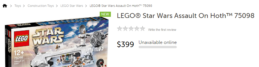 75098 Assault On Hoth Target Page