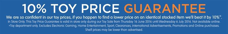 Big W Price Beat 2016 Toy Sale