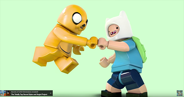 LEGO Dimensions Expansions Screenshot Adventure Time