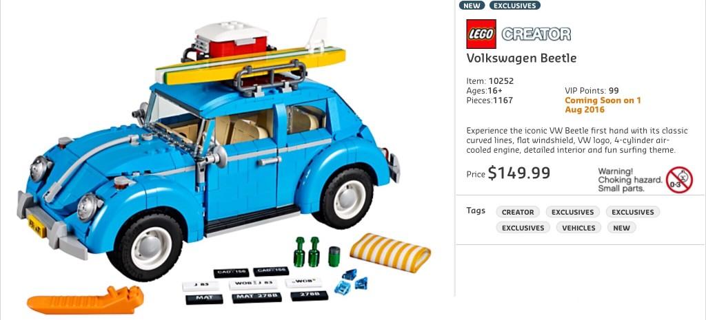 10252 Volkswagen Beetle AU RRP