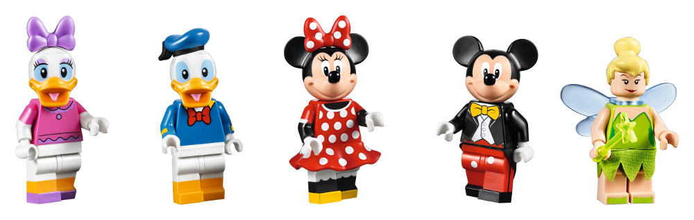 71040 Disney Castle Minifigures