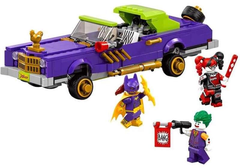 The LEGO Batman Movie Joker's Notorious Lowrider
