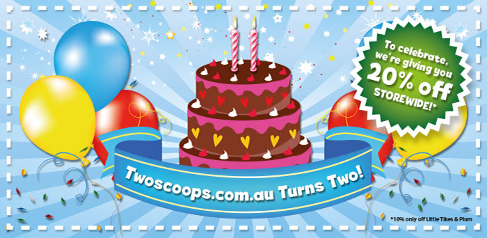 Twoscoops 2nd Birthday 20pc off