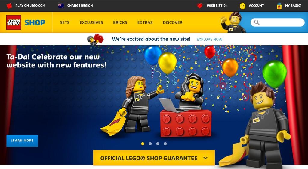 Australian Online Store New Design