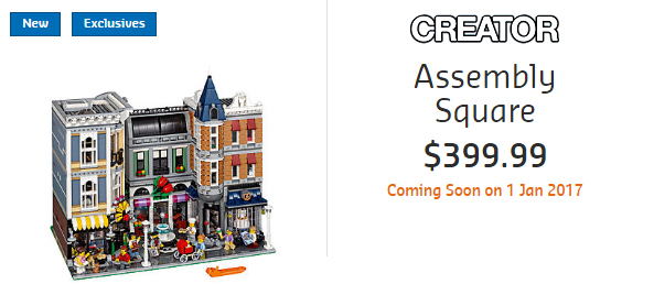 10255 Assembly Square Australian Price