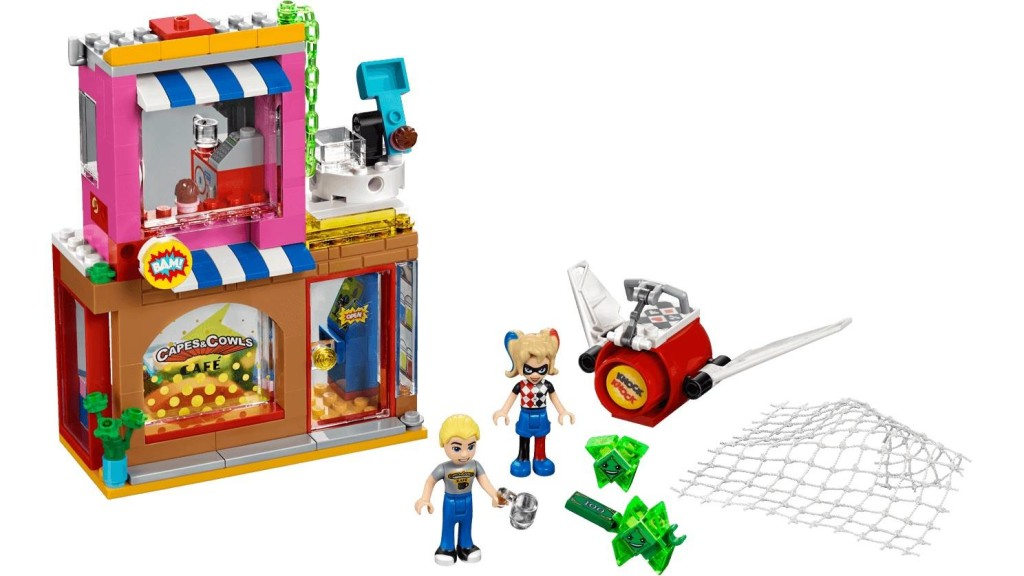 41231 Harley Quinn's Cafe Rescue