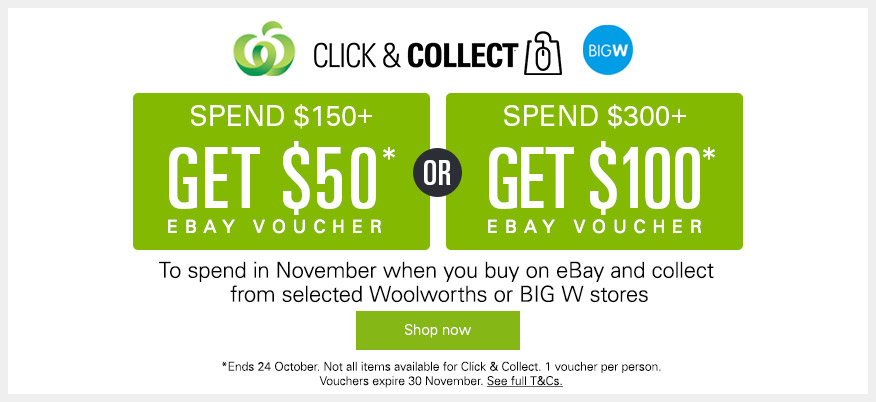 eBay October CC Voucher Offer