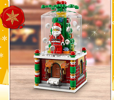 LEGO Snowglobe Promotion Now Available | Bricking Around