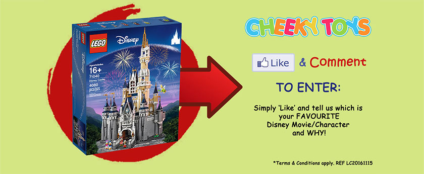 Cheeky Toys Disney Castle FB Giveaway