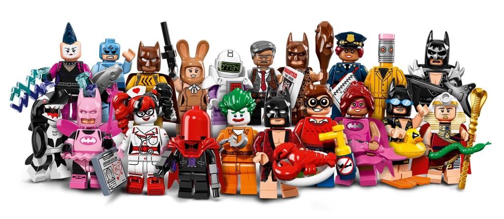 LEGO Batman Movie CMF Series All