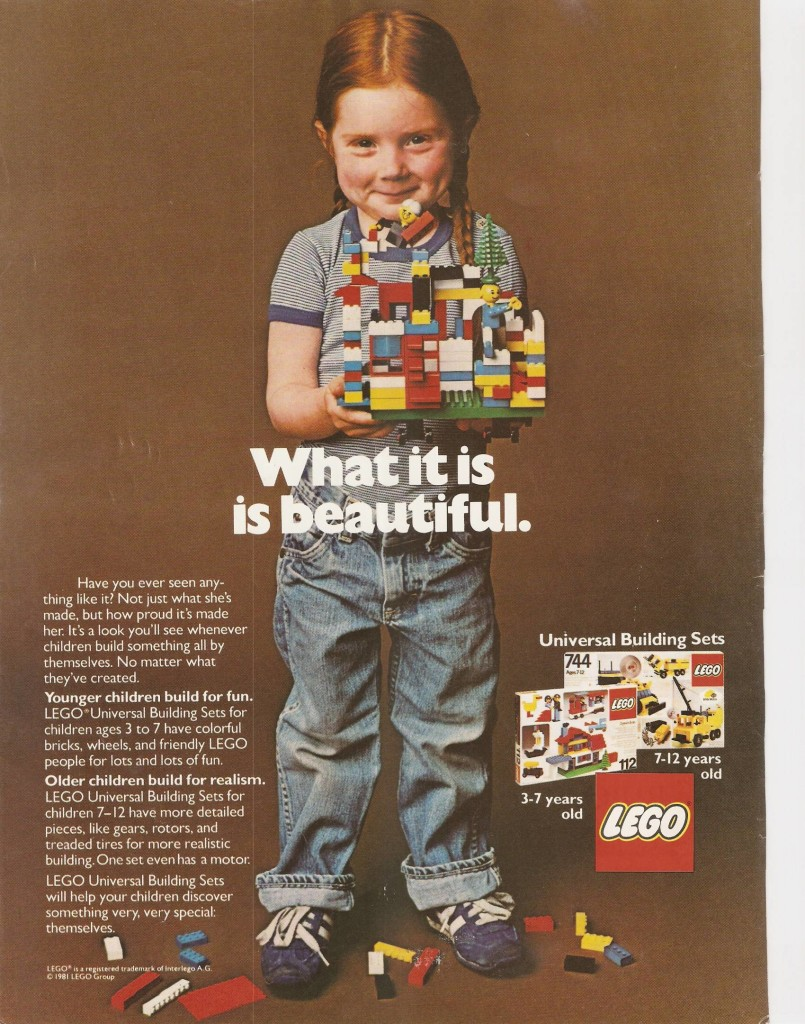 LEGO What it is ad