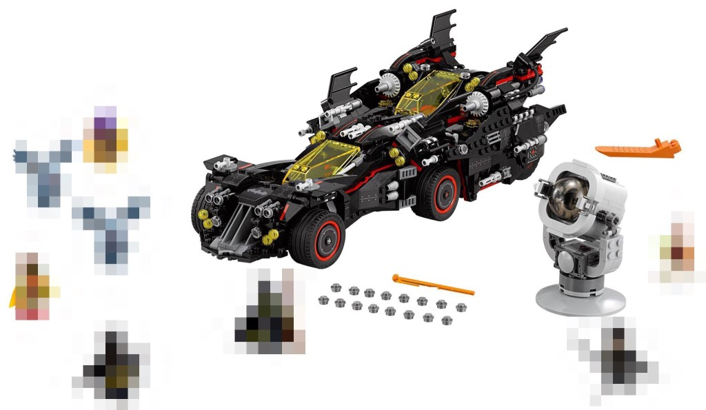 Ultimate Bat Mobile Pixelated