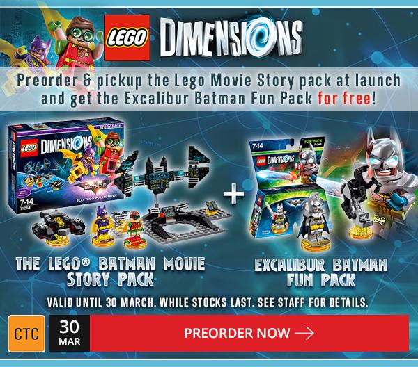 LEGO Dimensions Batman Preorder Bonus EB