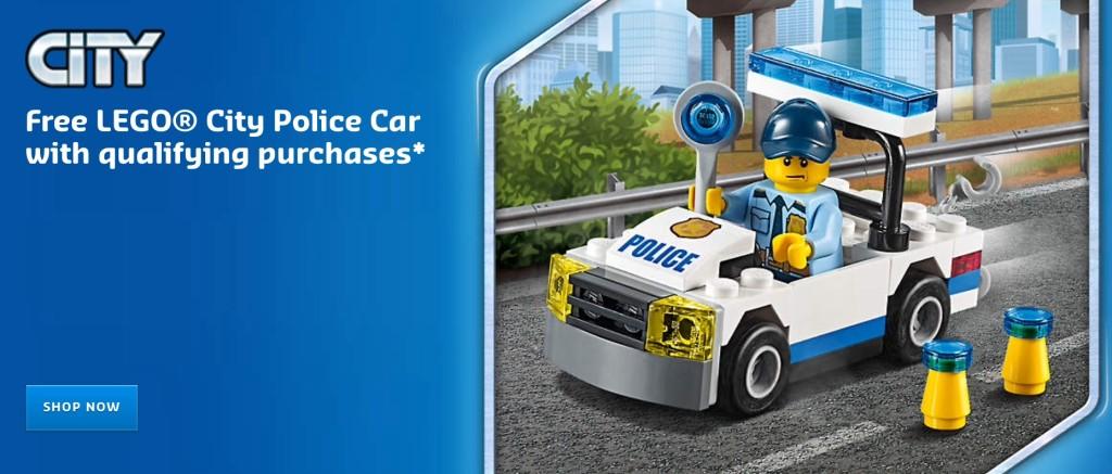 Free LEGO City Police Car