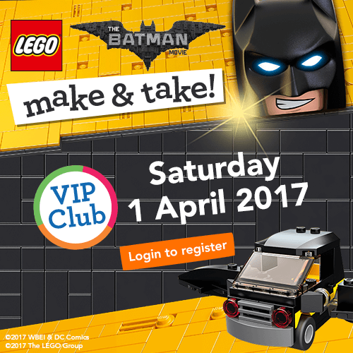 LEGO Batman Make and Take April12017