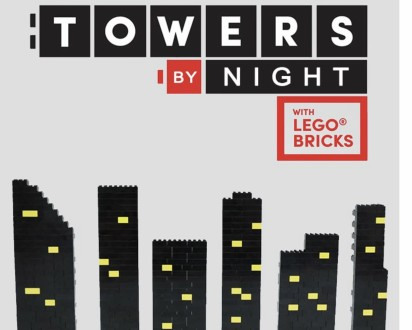 Towers by night