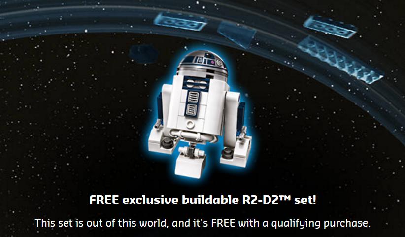 May 4th 2017 Free Brick Built R2-D2