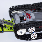 RC Tracked Racer 42065 Internal