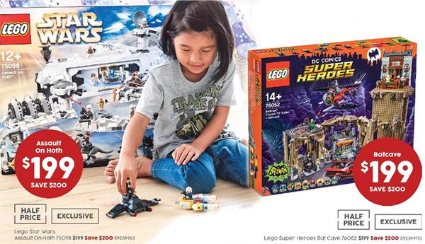 Target 50 percent off Hoth Batcave