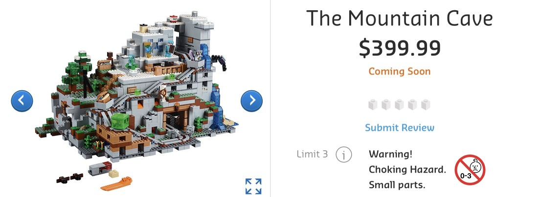 21137 The Mountain Cave AU RRP