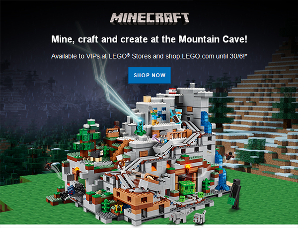 21137 The Mountain Cave VIP