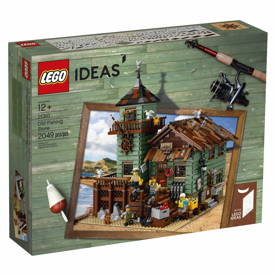 21310 Old Fishing Store Box Front