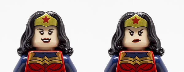 DC Awesome Guide Wonder Woman Both Faces
