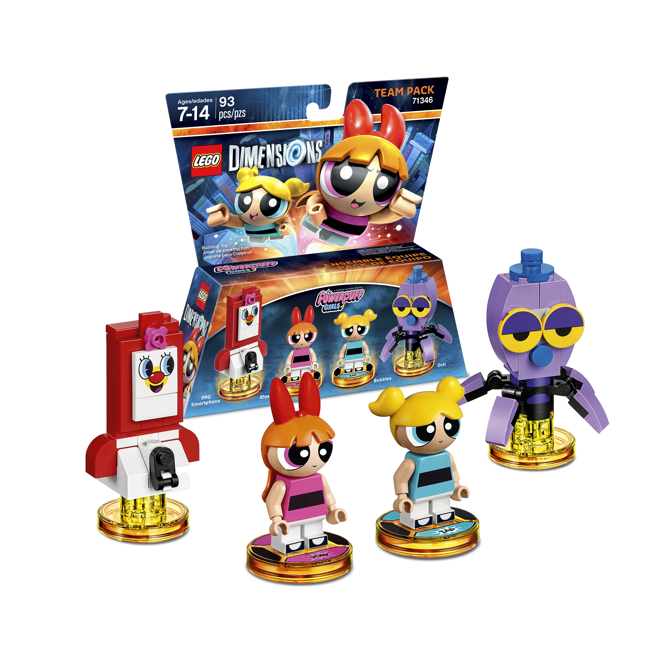 Powerpuff Girls Team Pack 71346