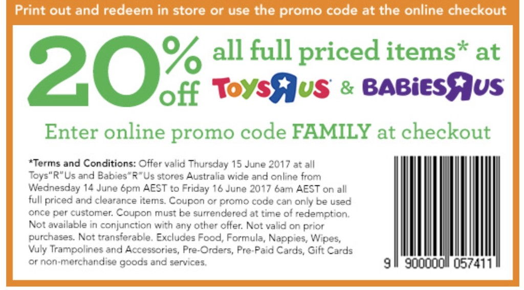 Toys R Us June 15 20