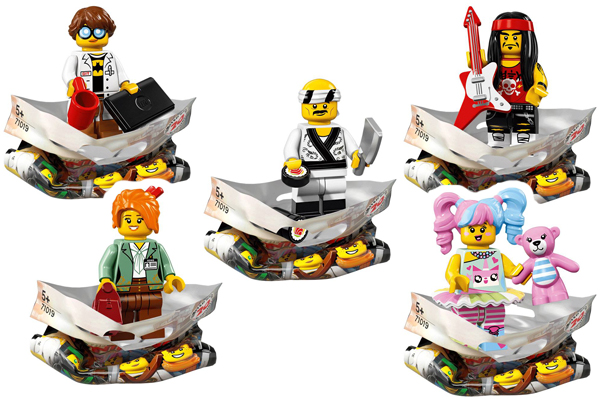 Ninjago Movie Minifigures Citizens
